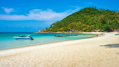 Health Retreats in Koh Phangan, Thailand, beach and sea