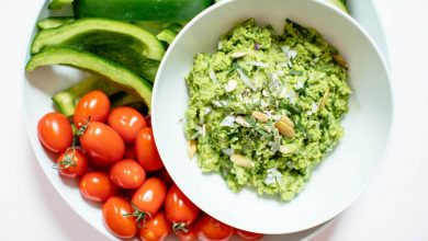 Minty Spring Pea Dip |  Nutrition Stripped®