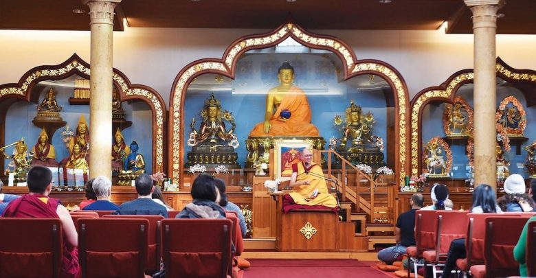 Guided Buddhist Meditation Class online live stream or in person