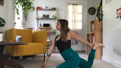 Wellfleet's yoga teacher Emma Doyle has welcomed the opportunity to take distance learning and sees herself that way for the foreseeable future.  Doyle runs her classes on Zoom through the Outermost Yoga website and also has a few private clients she works with through Zoom and FaceTime.