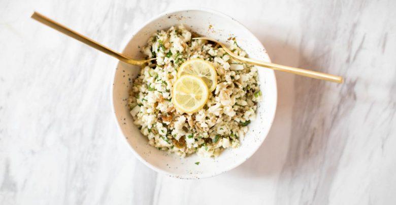The best cauliflower salad |  Diet stripped