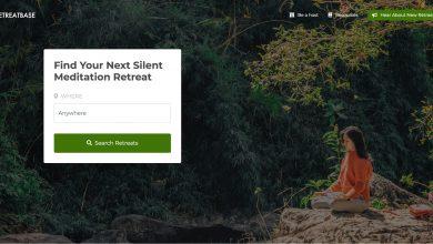 Silent Meditation Retreats Tool, RetreatBase, Helps Us Find Some Peace