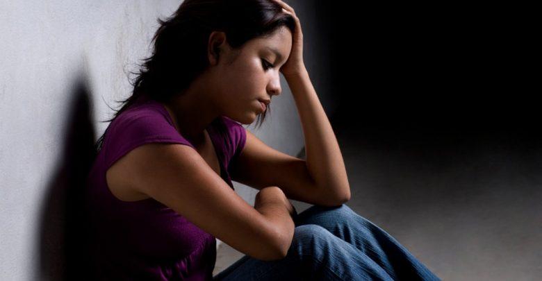teenager sad