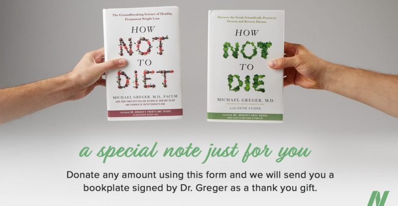 How Not to Diet and How Not to Diet books