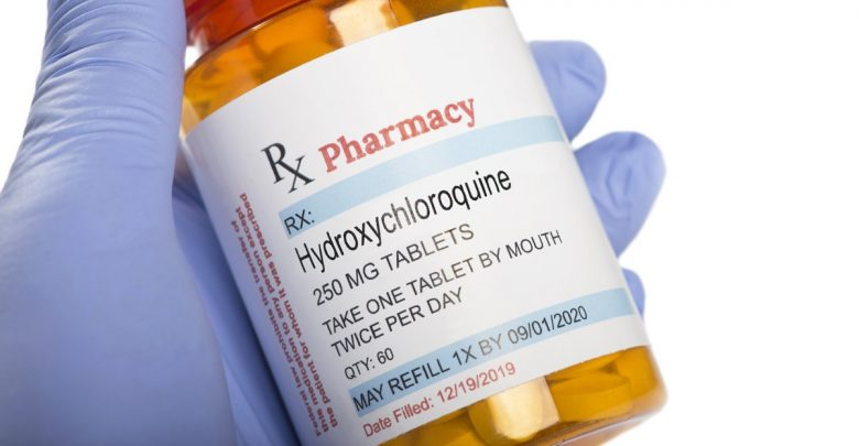 The FDA warns the website to stop illegal sales of unapproved false-branded hydroxychloroquine