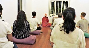 A time to meditate | Print Edition