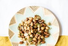Two-bean and herb salad recipe