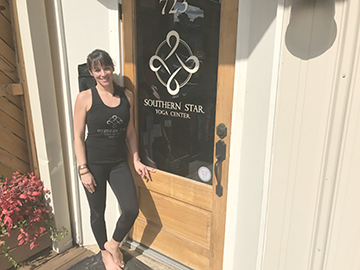 Oxford yoga business created after owner's back injury - The Oxford Eagle