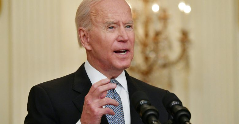 Biden warns of states with low vaccination rates where cases may rise again