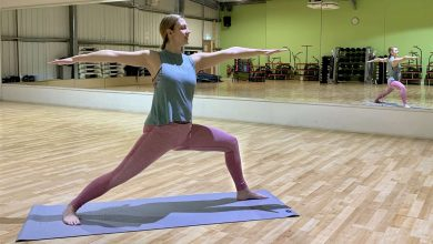 Mum launches yoga business in village near Grantham