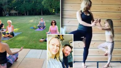 Inside Ben Cohen and Kristina Rihanoff's forest home with yoga zone and its own zip line