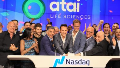 The Peter Thiel-backed psychedelic start-up has stocks popping on Wall Street debut