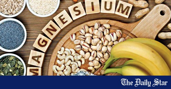 Magnesium: the amazing mineral    The daily star