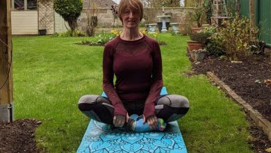 Carer launches yoga business in Grantham area after completing teacher training