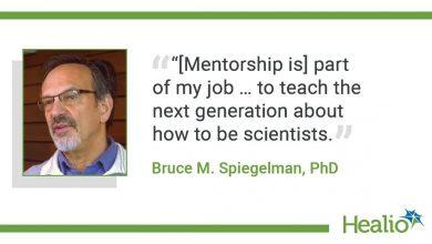 A conversation with Bruce M. Spiegelman, PhD
