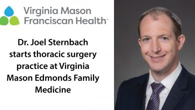 Virginia Mason, a specialist in thoracic surgery, is expanding his practice to Edmonds