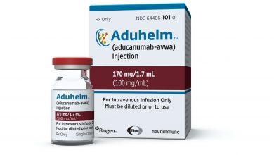 Aduhelm label update clarifies the patient population examined in studies