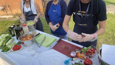 WVU medical groups hold cooking demonstration at Good Samaritan Free Healthcare    Magazine news