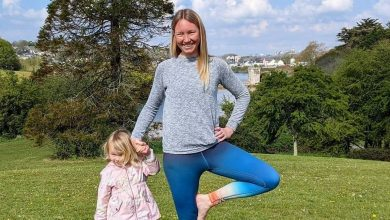 Plymouth woman launches online yoga sessions aimed at busy mums