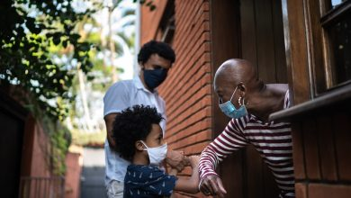 Black Hispanic communities devastated by casualties are taking COVID-19 security precautions