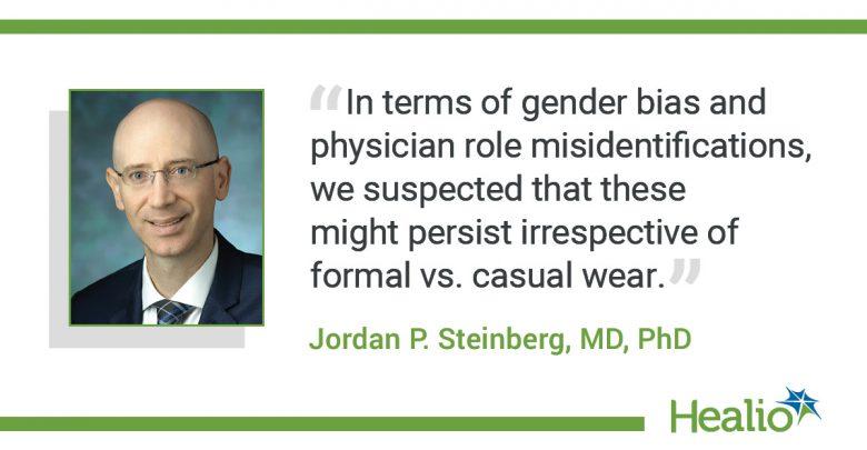 Bei Ärzten wird Freizeitkleidung immer beliebter, Patienten bevorzugen jedoch weiße Kittel