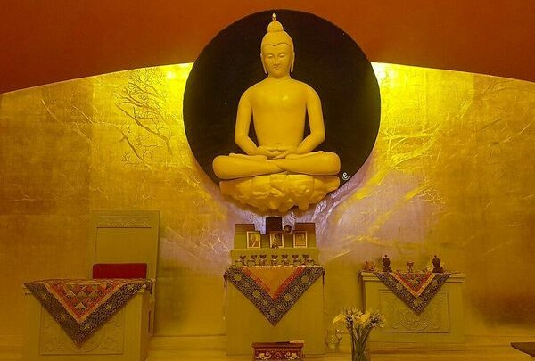 Large Stupa Bon for World Peace - Valle de Bravo, Mexico
