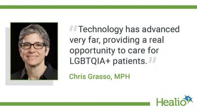 """The quote goes: """"The technology is very advanced and offers a real opportunity to care for LGBTQIA + patients."""