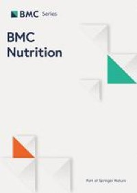 Culturally-consistent diet among individuals of Mexican descent at the US-Mexico border is associated with sleep duration and snoring   BMC Nutrition