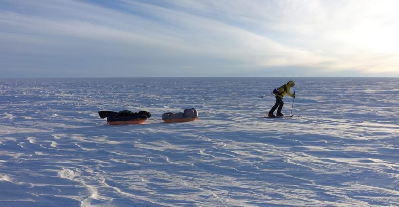 How the American Colin O'Brady trained for a solo trek through the Antarctic