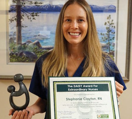 Barton Labor and Delivery Nurse Receives Daisy Award for Exceptional Care |  South Lake Tahoe