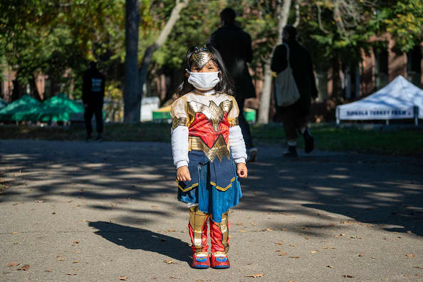 CDC director on whether kids should be trick or treating on Halloween