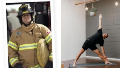 Passion Project - Burning passion for yoga inspires firefighter's side-hustle