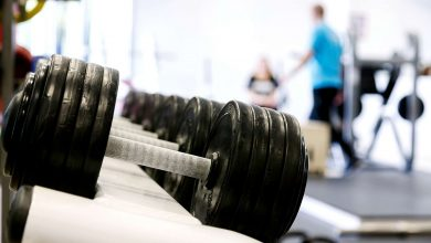 Weights Dumbells Resistance Training